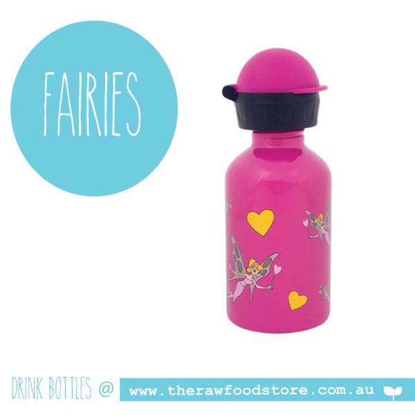 Fairies - Cheeki Stainless Steel drink bottles - 350ml