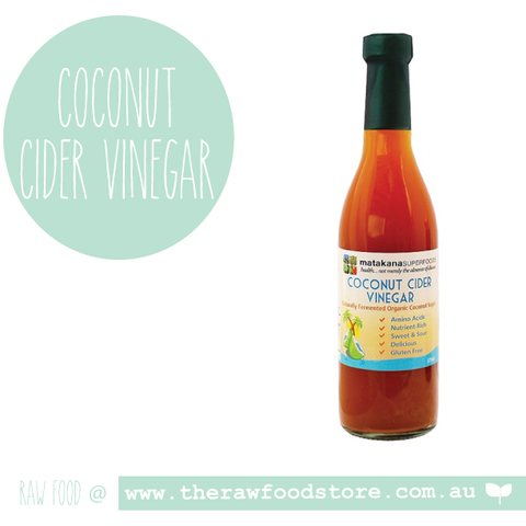 Coconut Cider Vinegar Organic 375ml