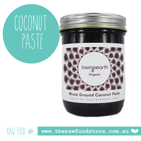 Loving Earth Coconut Paste - Raw Organic  - 450g