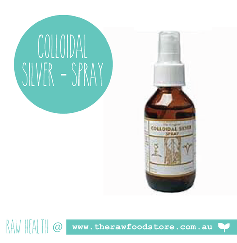 Original Colloidal Colloidal Silver - SPRAY 100mls at The Raw Food Store