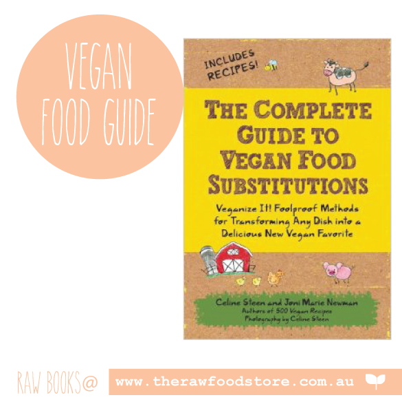 Complete Guide to Vegan Food Substitutions at The Raw Food Store