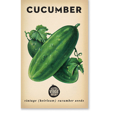 Cucumber 'Green Gem' Heirloom Seeds
