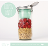 BNTO Canning Jar Lunchbox Adaprtor - Suits Wide Mouth Jars only!