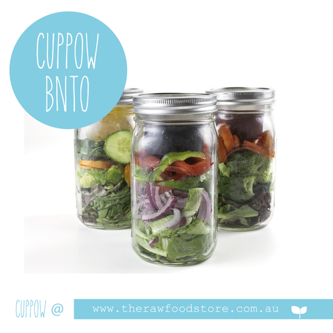 BNTO Canning Jar Lunchbox Adaptor - Suits Wide Mouth Jars only!