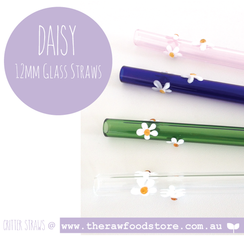 Daisy 12mm Glass Straw