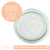 Weck Lids / Dunking Weight for Fermenting Jars - Weck