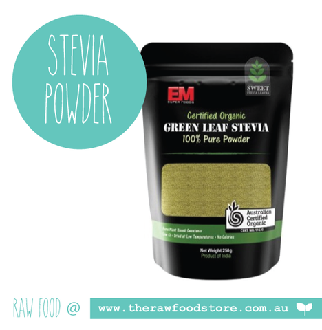 Green Stevia Leaf Powder - Organic 250g