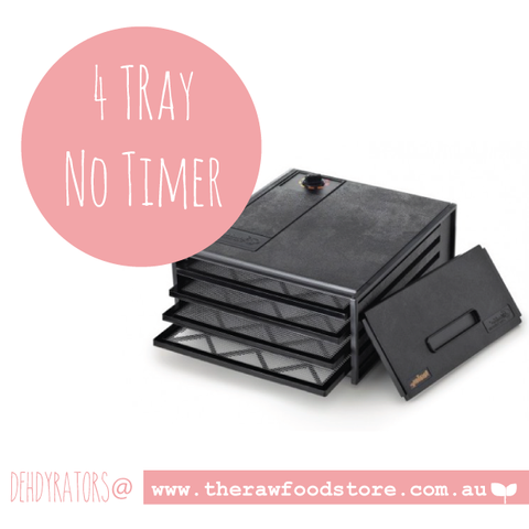 4 Tray Excalibur Dehydrator - NO TIMER OUT OF STOCK