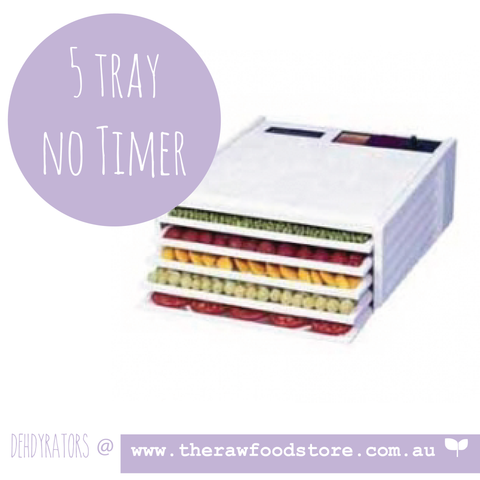 Excalibur 5 Tray Dehydrator - NO TIMER