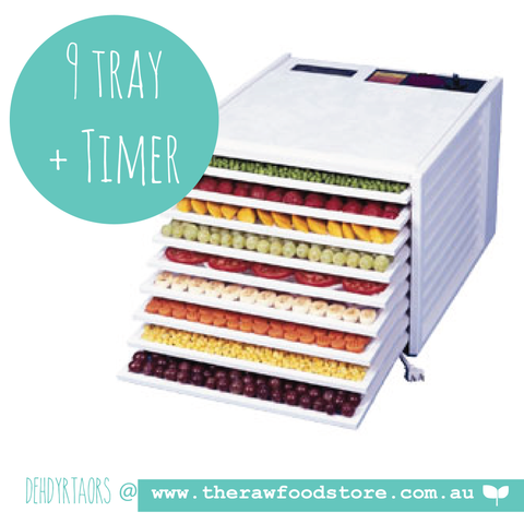 Excalibur 9 Tray Dehydrator with 26 Hour TIMER