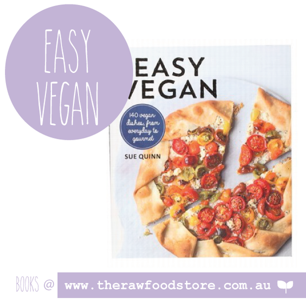 Easy Vegan Cookbook  - Sue Quinn