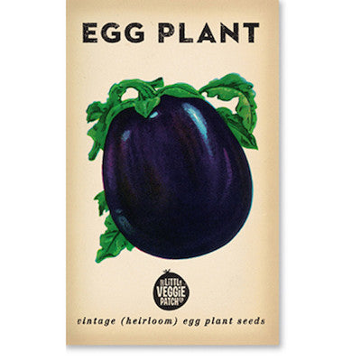 Eggplant 'Florida Market' Heirloom Seeds