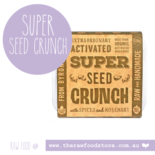 Extraordinary Foods Activated Super Seed Crunch 120g