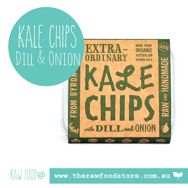 Extraordinary Foods Kale Chips Dill And Onion 45g