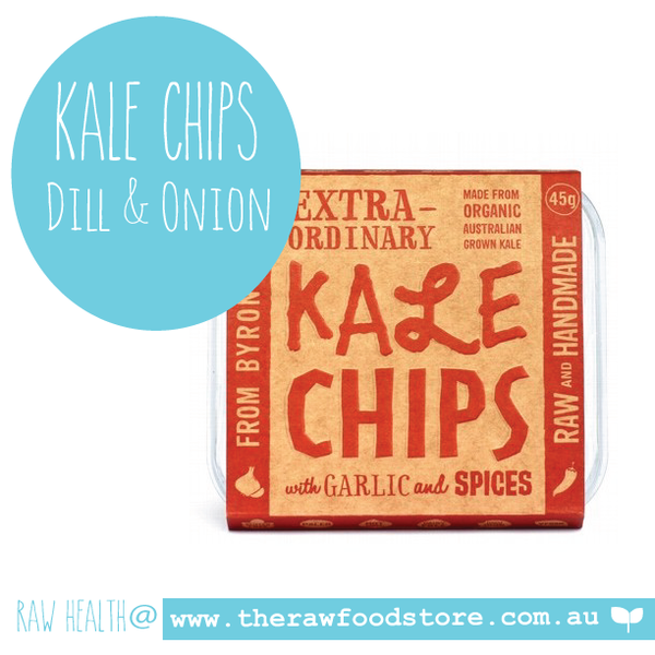 Extraordinary Foods Kale Chips Garlic And Spices 45g