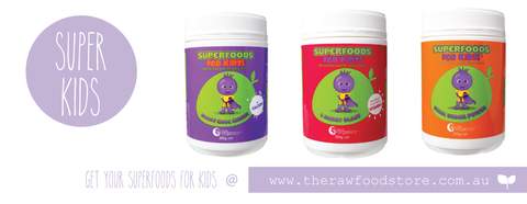 Superfoods for kids @ The Raw Food Store