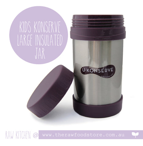 Kids Konserve -   Insulated Food Jar - Eggplant - 473ml