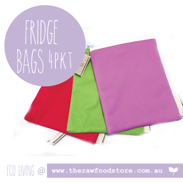 Set of 4 fridge bags