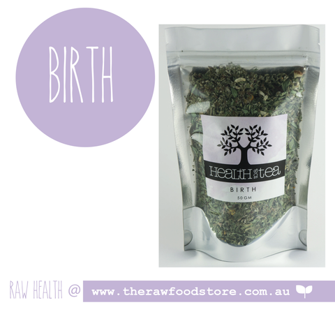 Health to Tea - BIRTH at The Raw Food Store