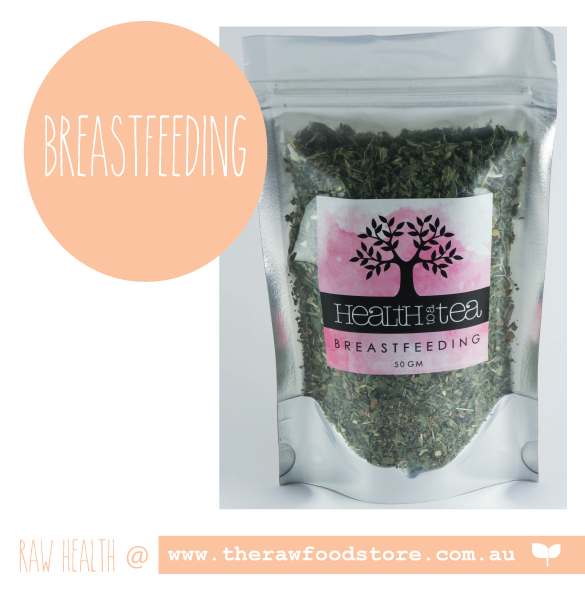 Health to Tea - BREASTFEEDING at The Raw Food Store