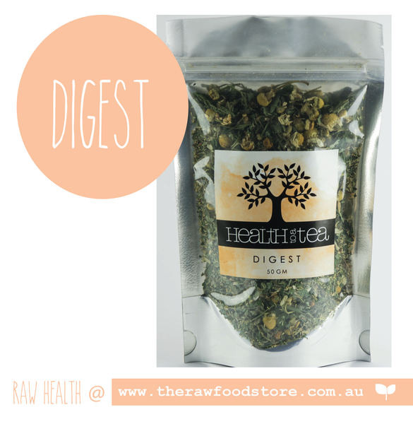 Health to Tea - DIGEST at The Raw Food Store