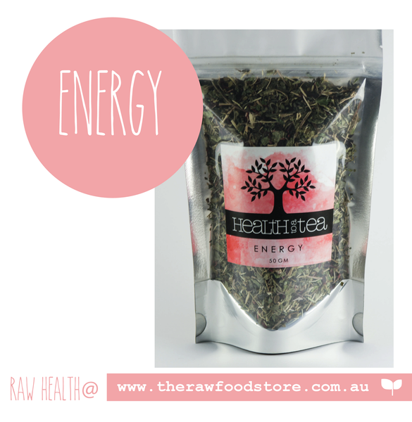 Health to Tea - ENERGY at The Raw Food Store