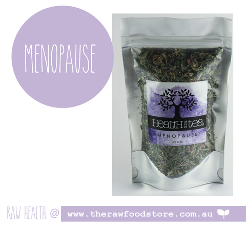 Health to Tea - MENOPAUSE at The Raw Food Store