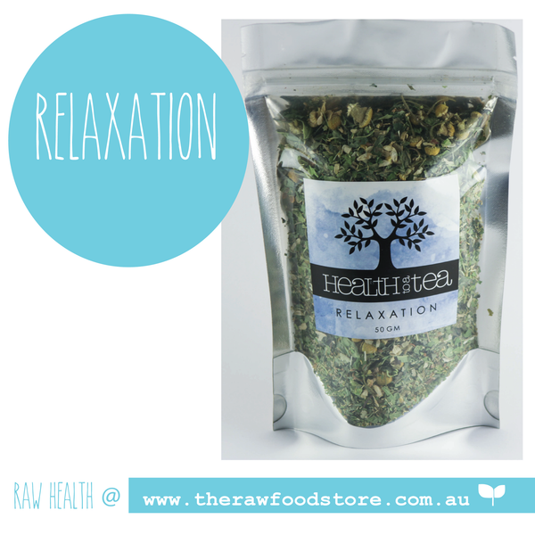 Health to Tea - RELAXATION at The Raw Food Store