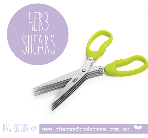 Kilo Herb Shears - The Raw Food Store