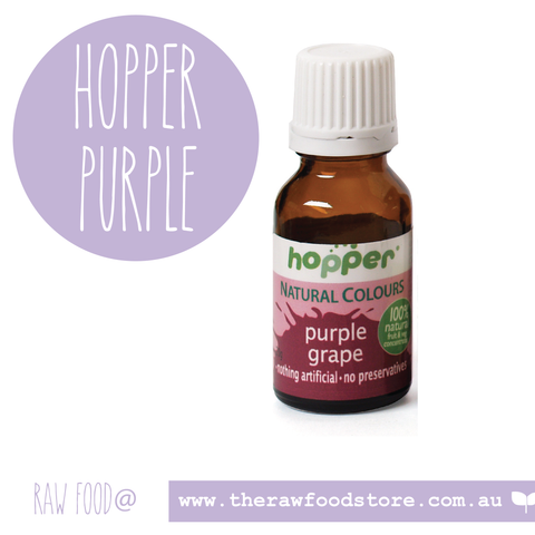 Hopper Natural Food Colouring Purple 20g