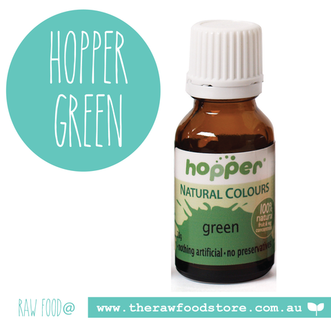 Hopper Natural Food Colouring Green 20g
