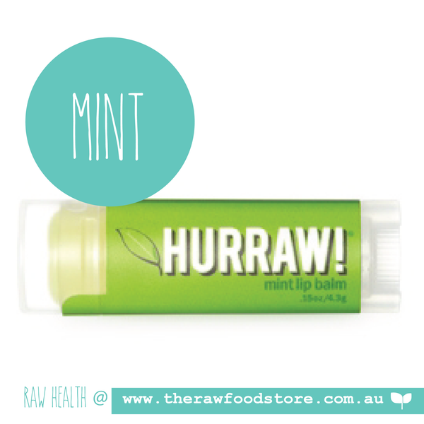 Hurraw! Raw Vegan Lip Balm - MINT