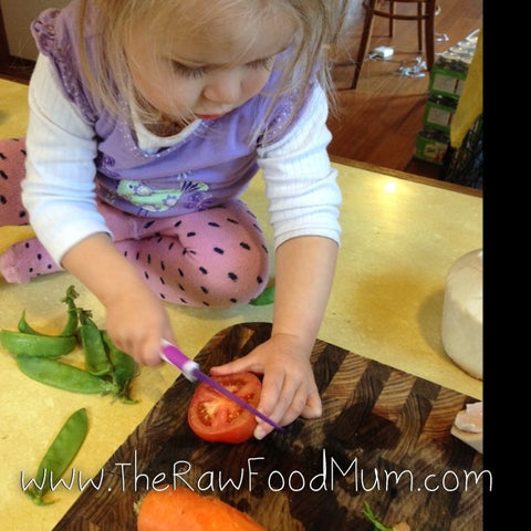 The Raw Food Store - KiddiKutter Knives