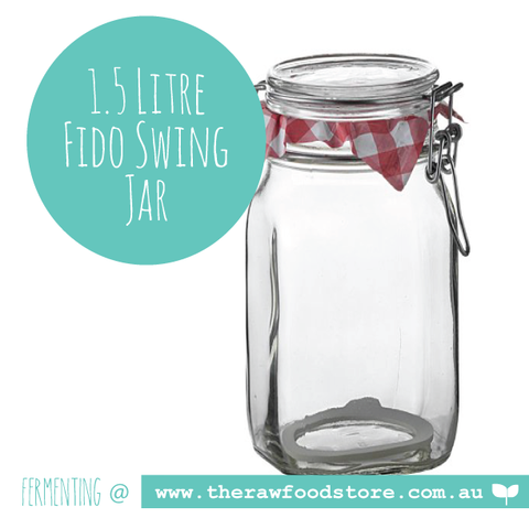Fido Swing Top Preserving 1.5 litre - Bormioli Rocco