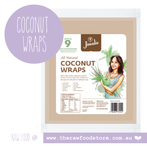 Jimalie - Raw Coconut Wraps