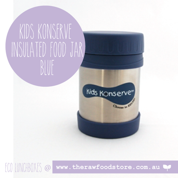 Kids Konserve -   Insulated Food Jar - Blue 350ml