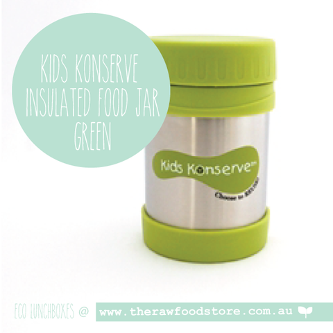 Kids Konserve -   Insulated Food Jar - Green - 350ml