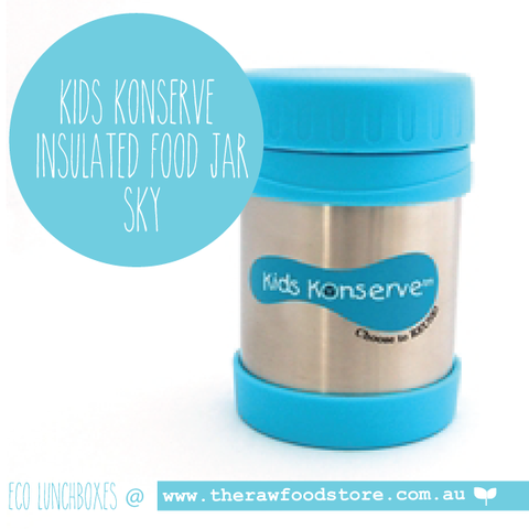 Kids Konserve -   Insulated Food Jar - Sky 350ml