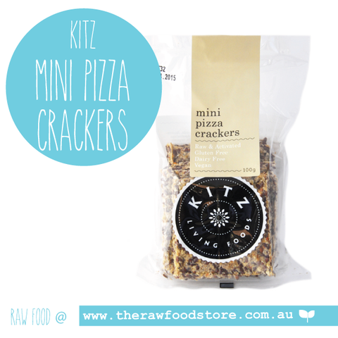 Kitz -Mini Pizza Crackers- 100g