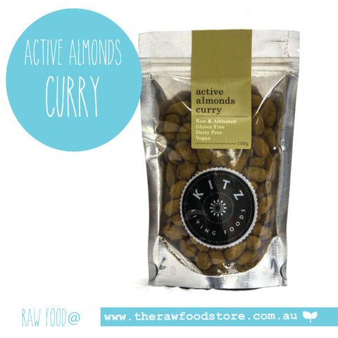 Active Almonds Curry 150g - Kitz