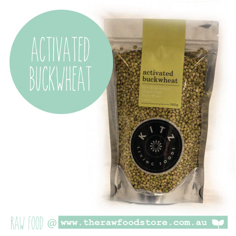 Activated Buckwheat (Buckies) 260g  - Kitz