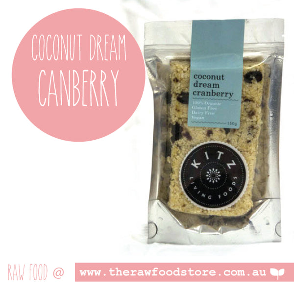 Kitz -Coconut Dream Cranberry 150grams