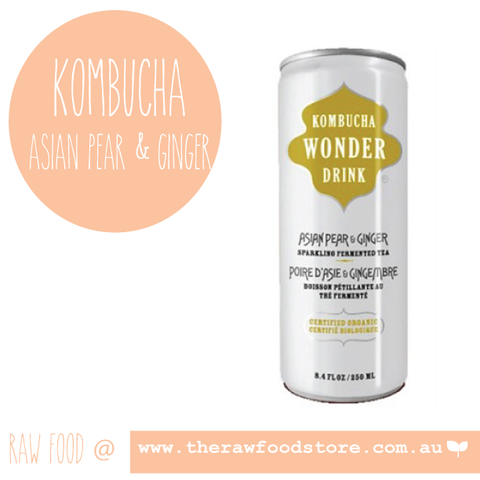 Ceres Kombucha Drink -  Asian Pear & Ginger 250ml