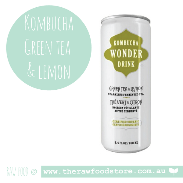 Ceres Kombucha Drink - Green Tea and Lemon 250ml