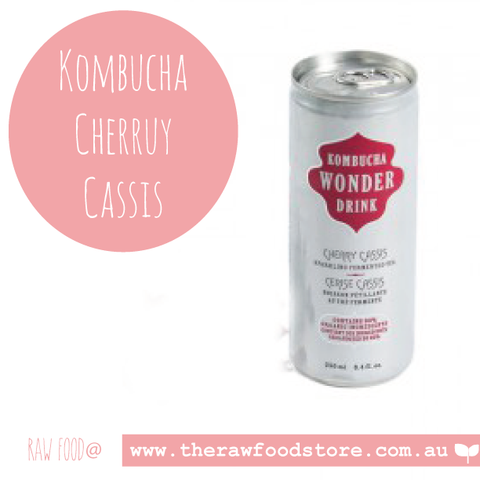 Ceres Kombucha Drink -  Cherry Cassis 250ml