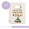 Fluf Organic Lunch Bag - Salad