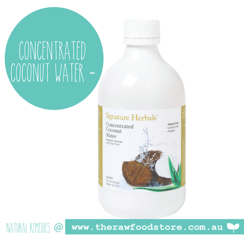 Concentrated Coconut Water - Probiotic with Aloe Vera