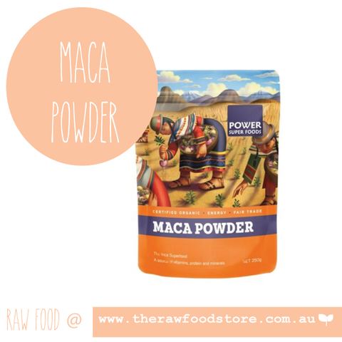 Maca Powder - Poweder Superfoods 250grans
