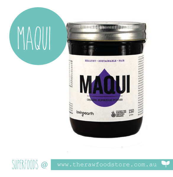 Loving Earth Maqui Berry Powder - Raw Organic 150g