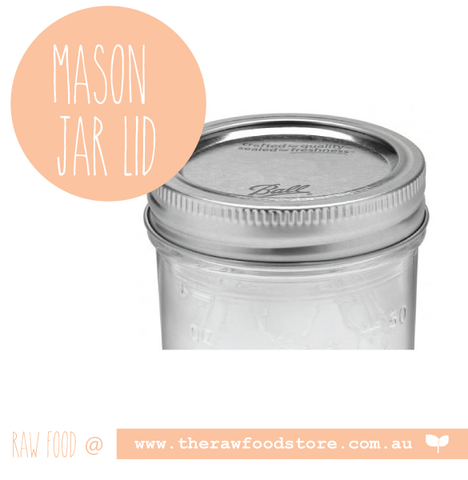 Ball mason canning lid with band - regular mouth
